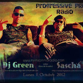 Dj Green - Progressive Planet Radio Broadcast #035 Oct 2012