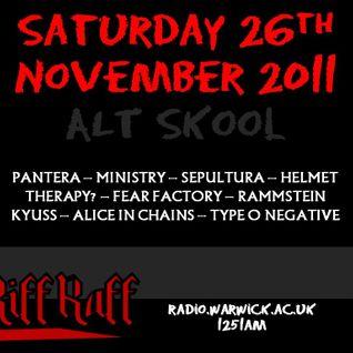 Riff Raff #7 - 26/11/11
