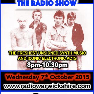 RW045 - THE JOHNNY NORMAL RADIO SHOW - 7TH OCTOBER 2015 - RADIO WARWICKSHIRE