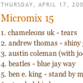 Micromix 15