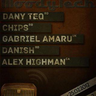 Danish live @ MoodyTech Radio [25.02.2012]