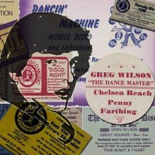 Greg Wilson - Time Capsule - August 1977