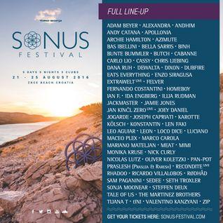 Adam Beyer @ Sonus Festival 2016 at Zrce Beach Croatia - 21-08-2016