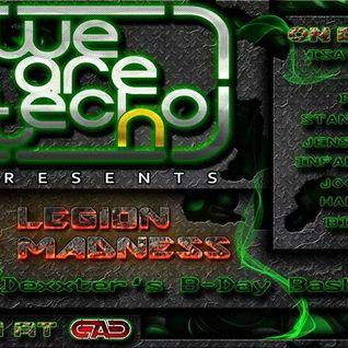 DEXXTER @ Legion Of Madness   CAC Underground   Karl Marx Stadt