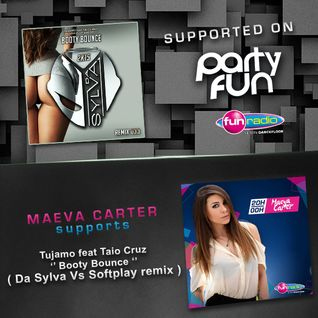 Da Sylva remix 033 ''Booty Bounce'' supported by Maeva Carter on Fun Radio