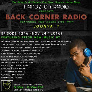 BACK CORNER RADIO: Episode #246 (Nov 24th 2016)