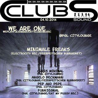 ° _* Minimale Freaks (Live) - 04.10.2014 - We Are One (WePlayFuckingGoodTechno) @Pgl Citylounge *_ °