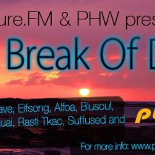 Suffused - The Break of Dawn (30-March-2012) on Pure.FM