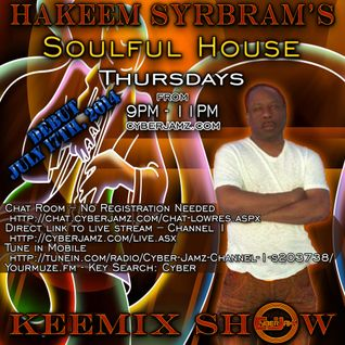 Hakeem Syrbram's Soulful House Keemix Show - 07-14-2016