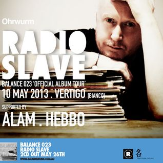 Ohrwurm pres. Alam (warmup for Radio Slave) @ Vertigo KL - 10May13 (Balance 023 Official Album Tour)