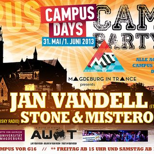 Stone&Mistero - Campus Days Set from 31/5/2013