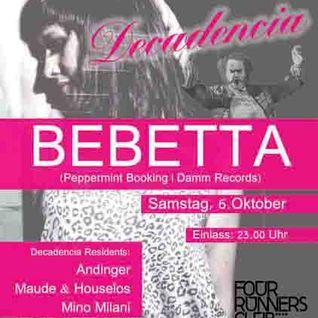 BEBETTA @ DECADENCIA - 06.10.2012