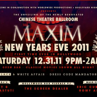 Maxim Magazine 2012 NYE @ The Chinese Theatre - Hollywood