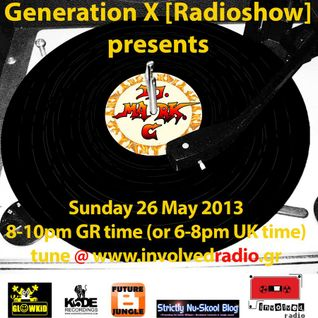 GL0WKID's Generation X [RadioShow] pres. DJ MARK C (UK) on the Guest Mix - 26May2013