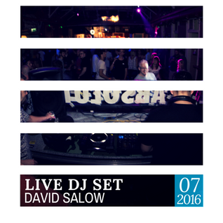 David Salow - DJ set at Herz, Fogas Haz 07-08-2016