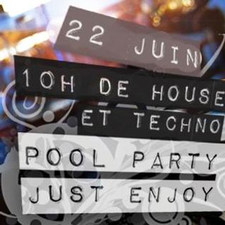 Just Enjoy Pool Party