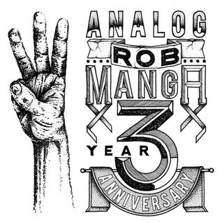 ANALOG 3 YEAR ANNIVERSARY mixtape by ROBMANGA