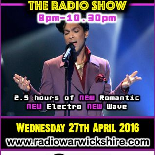 RW072 - THE JOHNNY NORMAL RADIO SHOW - 27TH APRIL 2016 - RADIO WARWICKSHIRE