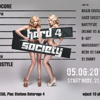 B-Art - Hard 4 Society 05.06.2015 Re-Run