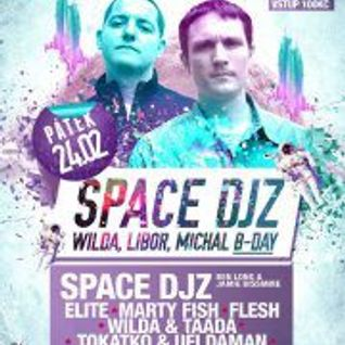 Flesh - SPACEial B-day WARMUP mix 4 UFI 23.2.2012