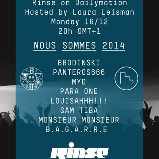 LOUISAHHH!!! VS. PARA ONE - NOUS SOMMES 2014 X RINSE PARIS (2013.12.16 - FRANCE)