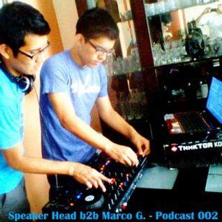 Speaker Head b2b Marco G. - Podcast 002