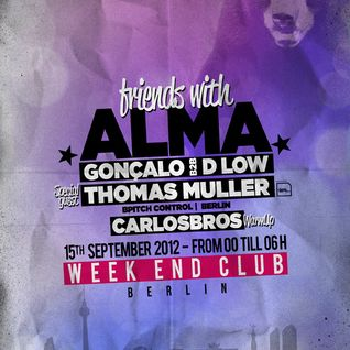 Gonçalo & D Low @ WeekEnd Berlin (15.09.12) - Parte 1
