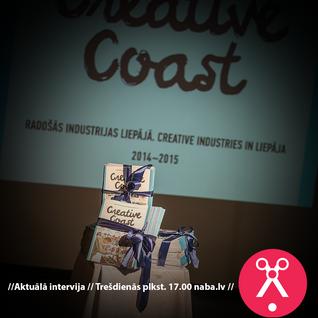 Aktuālā Intervija 12.11.2014 Creative Coast - Liepāja