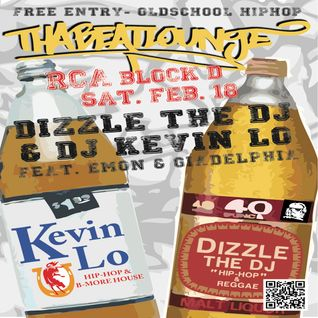 Dizzle & Kev Lo @ Tha Beatlounge - Early Warmup set