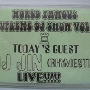 DJ JIN (RHYMESTER)1997.3 WORLD FAMOUS SUPREME DJ SHOW VOL.3 FROM CISCO