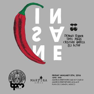 TIMO MAAS - INSANE SHOWCASE @ MARTINA BEACH - THE BPM FESTIVAL 2016