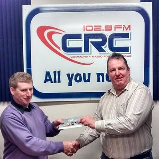 Patrick Mc Eveney interviewed on CRCfm 31/10/14