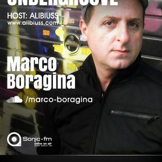 Undergroove Radio Show - w/guest Marco Boragina (July 2013)