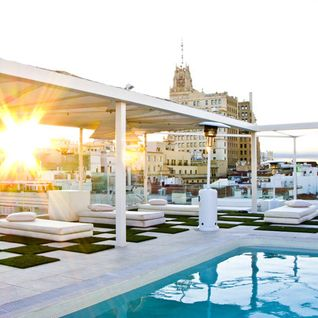 Golden Summer Chill-House Madrid Rooftop Terrace Mix