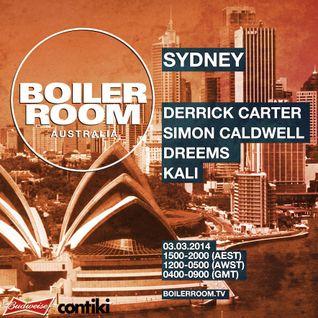 Derrick Carter - Live @ Boiler Room (03-03-2014)