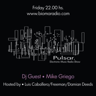 Pulsar 16.11 - Presenta a - Mike Griego - (Dj Set)