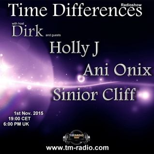 Ani Onix - Time Differences 182  - Guest Mix [1. November 2015] On TM-Radio