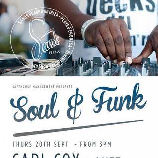 Part I - Carl Cox / Funk & Soul party @ Sands Ibiza / 20.09.2012 / Ibiza Sonica