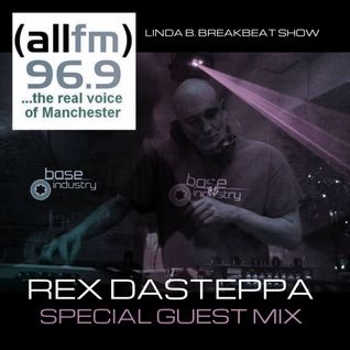Rex Dasteppa Exclusive Guest Mix For The Breakbeat Show With Linda B On allfm!