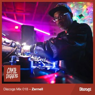 Discogs Mix 018- Zernell Gillie