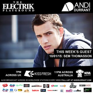 Electrik Playground 10/01/15 - Sem Thomasson