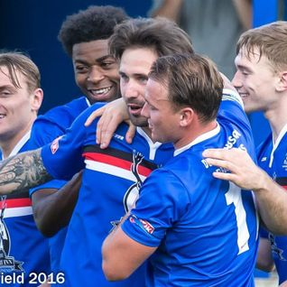 Whitby Town v Mickleover Sports- 10/9/16- Full match replay
