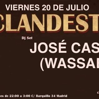 Djset @ Clandestino Club – July 2012