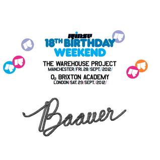 Baauer - Rinse.FM 18th Birthday Weekend - 17.09.2012