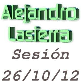 Alejandro Lasierra - Sesión 26/10/12