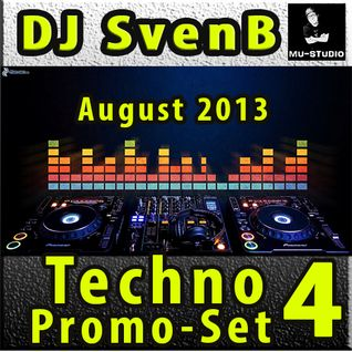 DJ SvenB - Techno Promo Set 4 August 2013