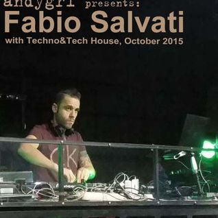 Fabio Salvati with Techno&Tech House, October 2015