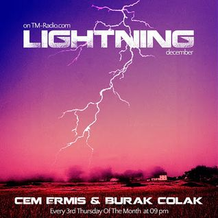 cem ermis & burak colak - lightning 005 on TM-Radio at december 2011
