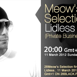 Lidless Sound guestmix to 28Meow's Selection 11.03.2012.