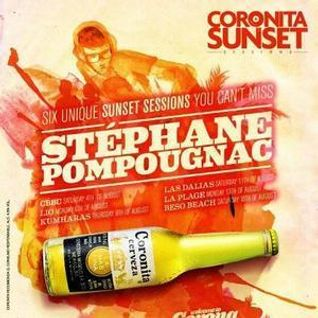 Stephane Pompougnac / Coronita Sunset Session @ La Plage / 13.08.2012 / Ibiza Sonica